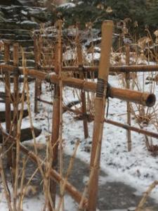 Bamboo Fence Railing